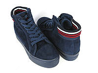 Стильные синие ботинки , фото 1