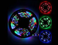 Лента светодиодная RGB 3528 влагостойкая IP65