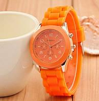 Оранжевые женские наручные часы