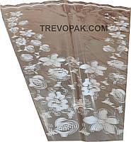 """Пакеты для цветов """"Лилии белые"""" (уп.100шт) 14*56*60"""