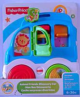 Развивающие игрушки для самых маленьких Автобус с животными CMV95 Fisher-Price Китай