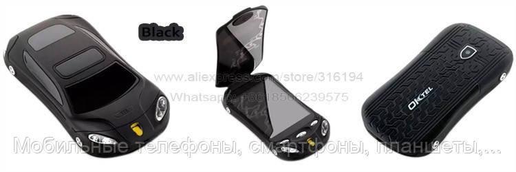 Раскладной телефон-машинка Ferrari F16 смартфон на 2 сим-карты андроид 4  экран 3 e598f9e0c02