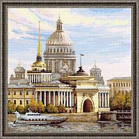 Набор для вышивания крестом «Санкт-Петербург. Адмиралтейская набережная» (1283), Риолис