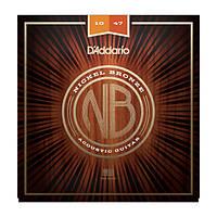 Струны D`ADDARIO NB1047 NICKEL BRONZE EXTRA LIGHT 10-47