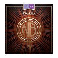 Струны D`ADDARIO NB1152 NICKEL BRONZE CUSTOM LIGHT 11-52