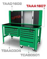 TOPTUL TAAA1607 Верстак 1560 х 710 х 827мм