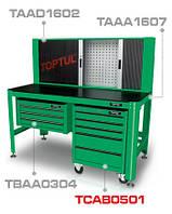 Тележка для инструмента  5 секций (под верстак) TCAB0501 TOPTUL