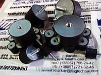 Виброопора резиновая С 25*30 М6 (гайка-гайка), фото 1