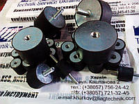 Виброопора резиновая С 25*30 М6 (гайка-гайка)
