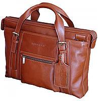 Мужской деловой портфель (сумка) из натуральной кожи  FC 111