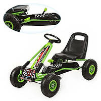 Детская педальная машина веломобиль Карт M 0645-5