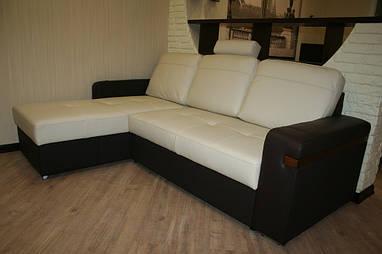 Андрей, Киев (диван FX mini в сочетании кожи 0500 и 0508 Pro)