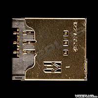 Разъем на SIM карту Sony Ericsson LT15i Xperia ARC / LT18i Xperia ARC S / R800 Xperia Play
