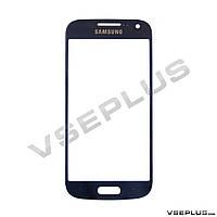 Стекло Samsung I9190 Galaxy S4 mini / I9192 Galaxy S4 Mini Duos / I9195 Galaxy S4 Mini, синий