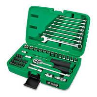 """Набор инструмента 1/4"""" + ключи 49 единиц GCAI4901 TOPTUL"""