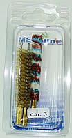 Набор ершей Mega line 8 мм. в блистере, 3 шт.
