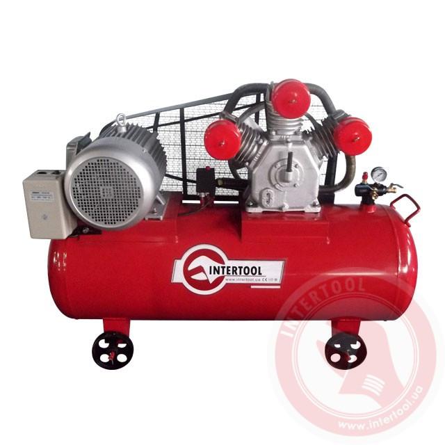 Компрессор 300л, 15HP, 11,0кВт, 380В, 8атм, 1600 л/мин (PT-0050)