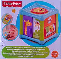 Развивающие игрушки для самых маленьких Развивающий кубик с животными BFH80 Fisher-Price Китай