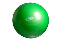 М'яч гімнастичний + насос 65 см / 4001 / зелений, оранж