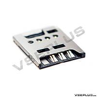 Разъем на SIM карту Sony C5302 Xperia SP / C5303 Xperia SP / C5306 Xperia SP / LT26i Xperia S