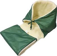 Матрас детский Руно в санки зеленый 90x35 см