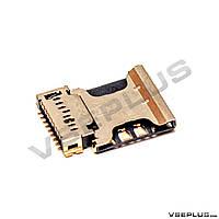 Разъем на SIM карту Samsung G350E Galaxy Star Advance Duos / I8552 Galaxy Win Duos