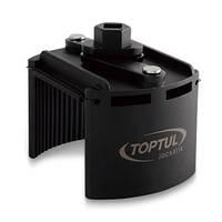 """Съёмник м/фильтра универсальный 115-140 мм 1/2"""" или под ключ 24 мм JDCA0114 TOPTUL"""