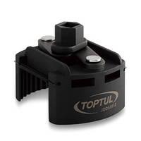"""Съёмник м/фильтра универсальный 80-115 мм 1/2"""" или под ключ 22 мм JDCA0112 TOPTUL"""