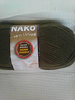 Pure wool № 10728 болотный.
