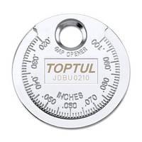 "Приспособление типа ""монета"" для проверки зазора между элетрод. свечи JDBU0210 TOPTUL"