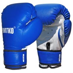 Боксерские перчатки Sportko  кожвинил 8 oz