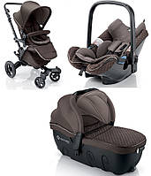 Эксклюзивная детская коляска 3 в 1 Concord Neo Travel Set Carbon