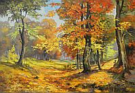 "Картина маслом ""Тёплая осень"""