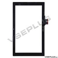 Тачскрин (сенсор) Asus S200e VivoBook / X202 VivoBook, черный