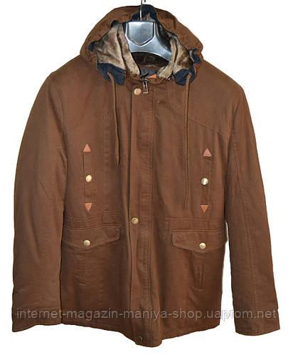 Куртка мужская мех зима