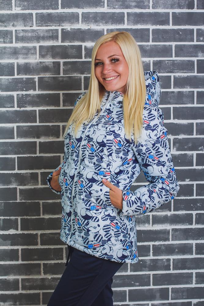 Модная женская куртка Микки