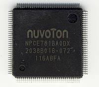 Микросхема Nuvoton NPCE781BA0DX для ноутбука (NPCE781BAODX)