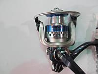 Катушка безинерционная, 3 подшипника, скорость-5,2/1 с металлической шпулей Diwa