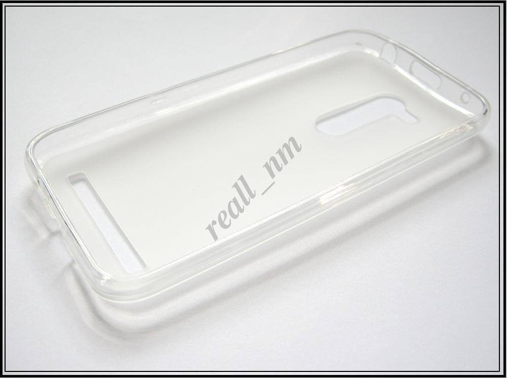 Прозрачный силиконовый чехол накладка-бампер для Asus Zenfone Go ZB452KG