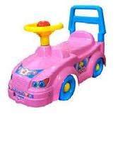 """Детский автомобиль для прогулок """"Технок"""" ,розовый, 3848"""