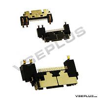 Разъем на зарядку Pantech GF500 / PG3600, Samsung E720 / P730 / S341i / S342i / X910 / Z110 / Z500 / ZM60