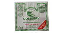 """Пакет фасовочный 22+(2х5)х38 """"Comserv"""" 100шт."""