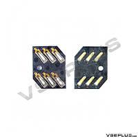 Разъем на SIM карту Nokia 2323 Classic / 2330 Classic / 2720 Fold / 3710 Fold / 6500 Classic / 6600 fold
