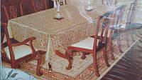 Праздничная скатерть, полиэстер, 120х150 см., 155/125 (цена за 1 шт. + 30 гр.)