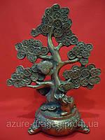 Статуэтка денежное дерево из бронзы