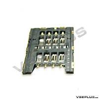 Разъем на SIM карту Sony MT27i Xperia Sola / ST26i Xperia J, Sony Ericsson MK16i Xperia Pro