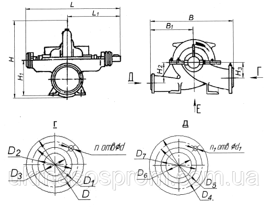 насос Д320-50а цена производитель