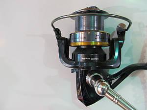 Катушка фидерная безинерционная 9+1 подшипника, скорость-4.9/1, диаметр 0.35/110  0.40/100 Shark XT6000F