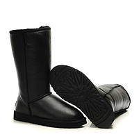 Сапожки  UGG Classic Tall Metallic Black оригинал