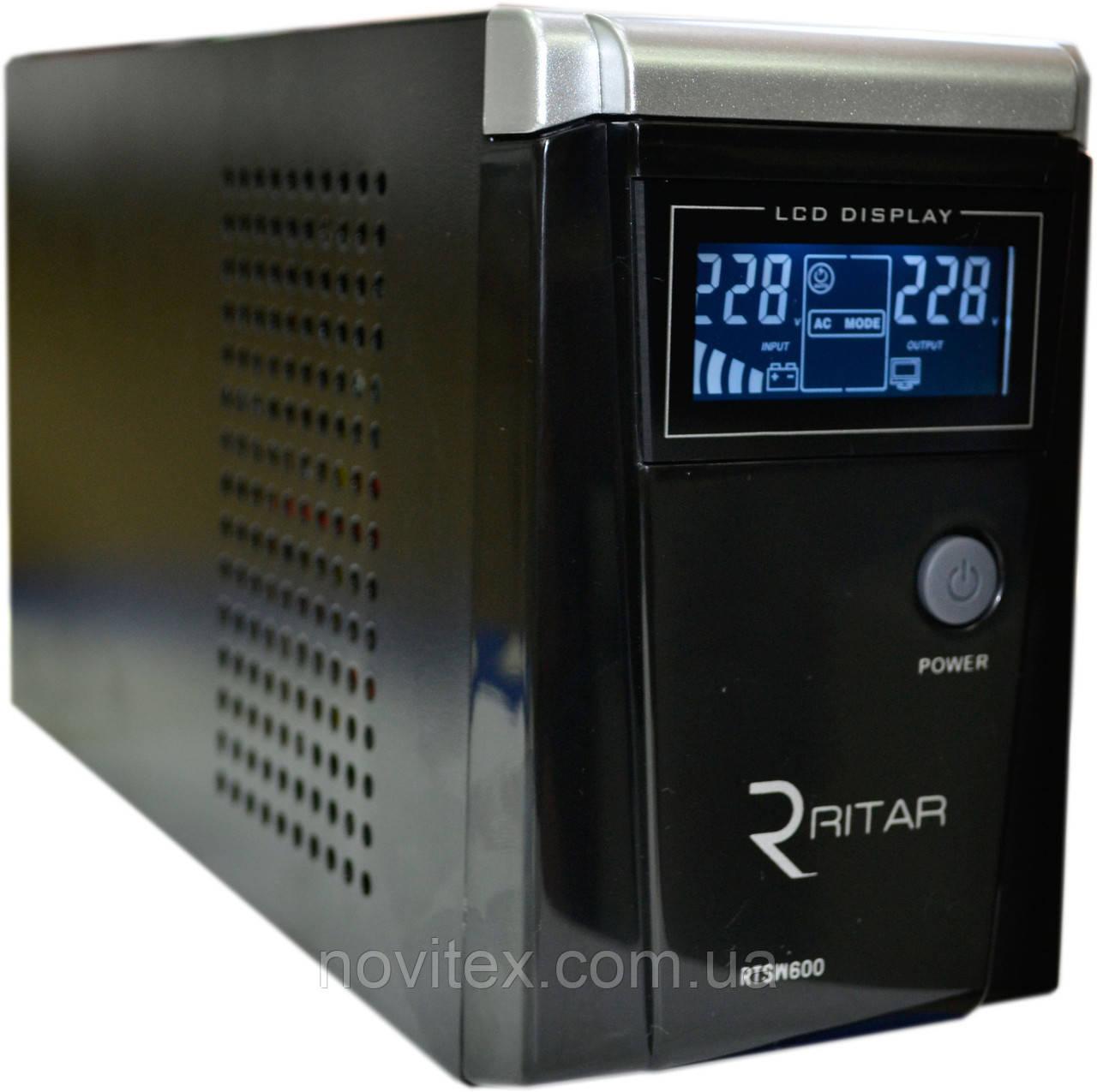 ИБП RITAR RTSW-600 (360Вт) LCD